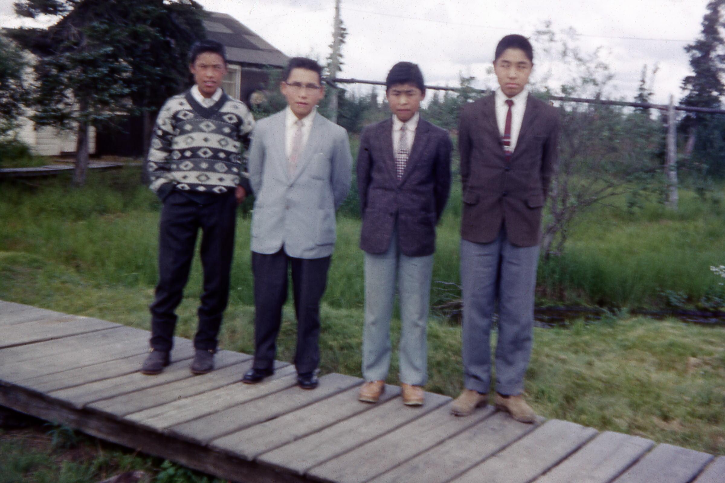 1964 - John Fox and boys